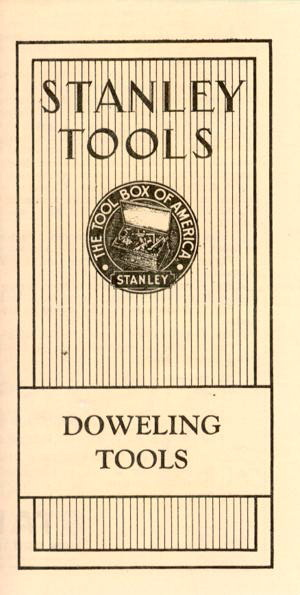 No. 77 Doweling Tools