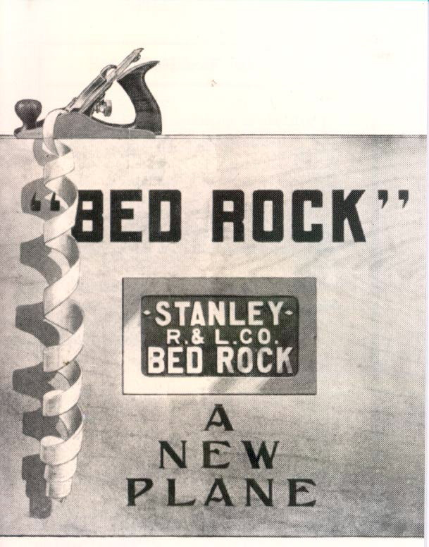 Stanley R.& L. Co. Bed Rock -- A New Plane