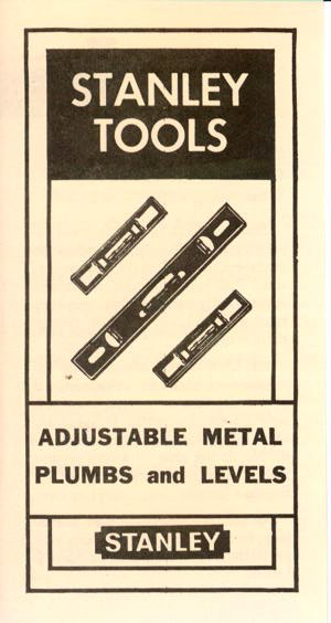 Stanley Adjustable Metal Plumbs and Levels